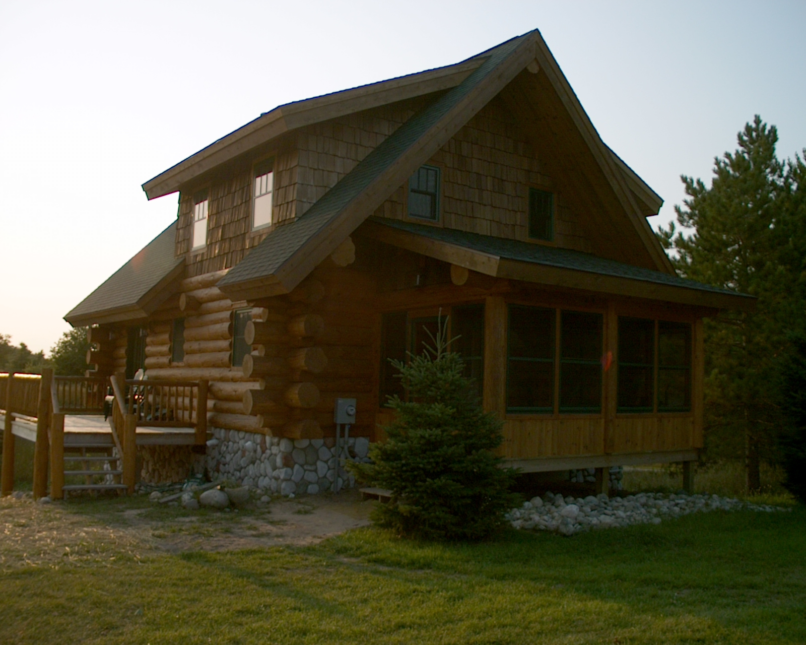 Custom handcrafted log homes gallery timber wolf
