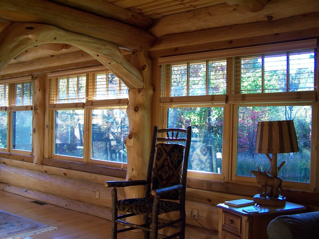 log home interior decor ideas
