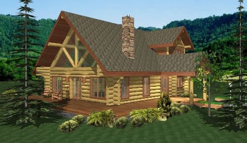 newberry log home plans